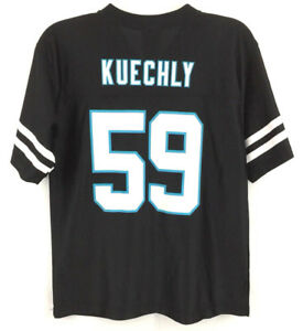 dc77236cc Luke Kuechly Youth Jersey  59 Carolina Panthers Black NFL Football ...