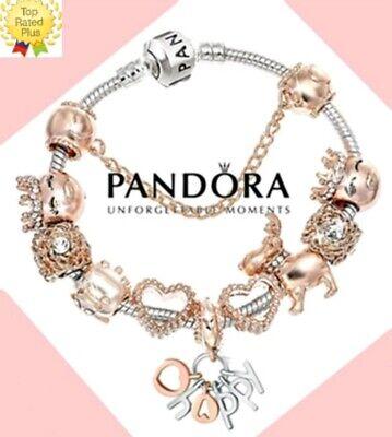 Authentic Pandora Charm Bracelet Silver
