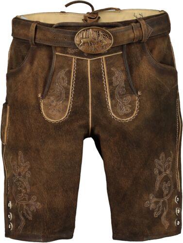 SPIETH /& Wensky Men/'s Costumes Leather Pants Incl Belt ME-Havel 311580-0256