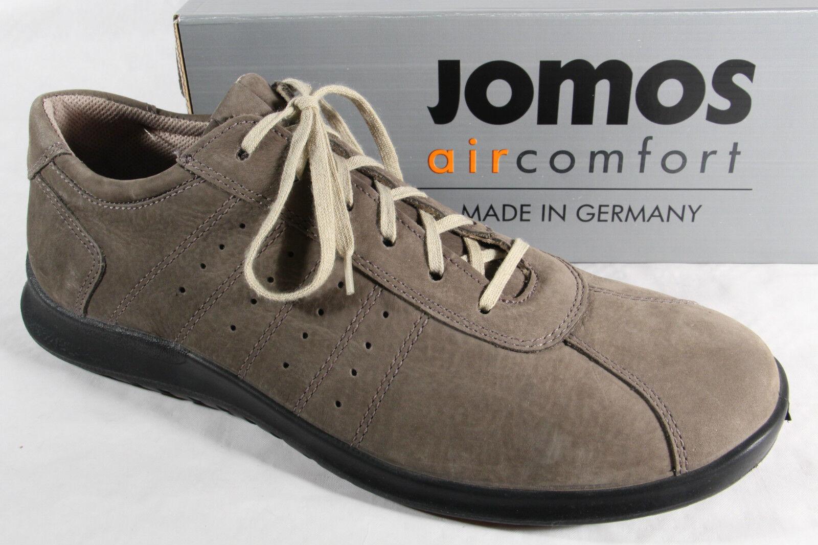 Jomos  Herren Schnürschuhe Halbschuhe Sneakers NEU Leder grau   NEU Sneakers 5553db