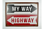 Quirky-Metal-Wall-Hanging-Plaques-Loads-of-Styles-30x40x1cm-Signs thumbnail 18