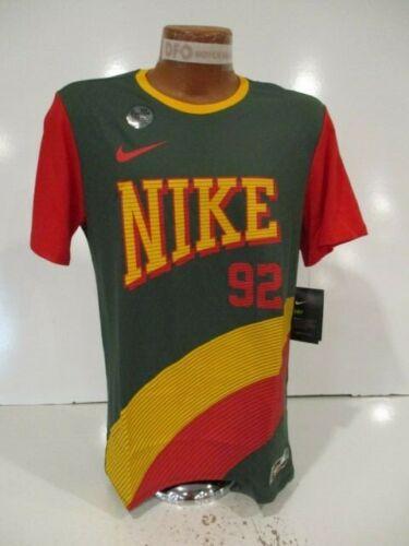 M XL AR0221-323 NEW $35 Nike 90 Retro 92 Dri-Fit Basketball T-Shirt Mens Sz S