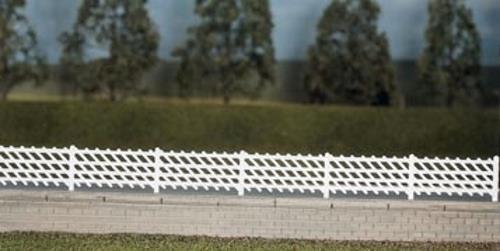 Ratio MR OO Gauge LMS Station Fencing white 426