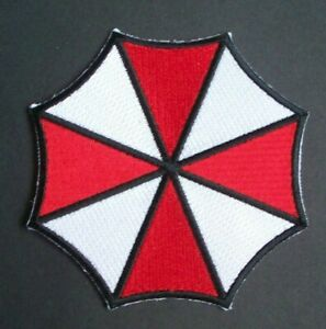 Resident Evil Umbrella Corporation Chest Logo Embroidered Patch NEW UNUSED