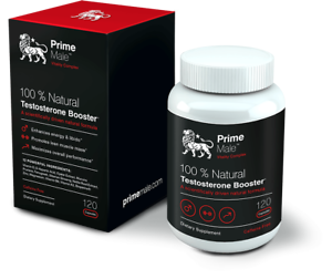 Prime Male - Mens Testosterone Booster 120 capsules - BUY DIRECT 617401625291 eBay