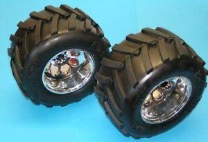 2-STK-MONSTER-TRUCK-REIFEN-RADER-1-5-1-6-VERKLEBT-FUR-FG-6228-B-WARE