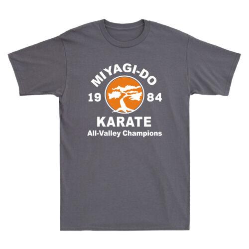 Miyagi-Do Karate 1984 All-Valley Champions Funny 80s Movie Vintage Men/'s T-Shirt