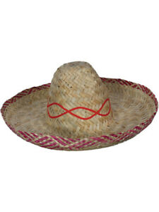 Caricamento dell immagine in corso Western-Bandito-Messicano-Sombrero- Costume-Costume-Da-Cowboy- 5d9a72b51a01