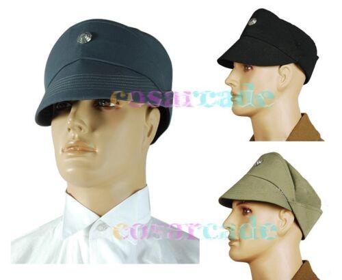 Star Wars Imperial Stormtrooper//Naval Officer Black+Gray+Olive Cosplay Hat Cap