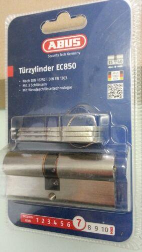 ABUS EC850 Extra Classe Tür Zylinder 35//40 mm Neu /& Ovp inkl.3 Schlüssel