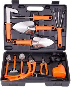 Gardening Tools Set,14 Pieces Stainless Steel Garden Hand Tool