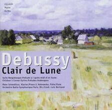 Debussy Clair de lune/Suite bergamasque/Prélude à l'après-midi d'un faune.. [CD]