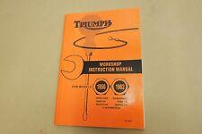 TRIUMPH PRE UNIT GENUINE WORKSHOP MANUAL 1956-62 5T.T100,TR5,6T,TR6,T110,T120