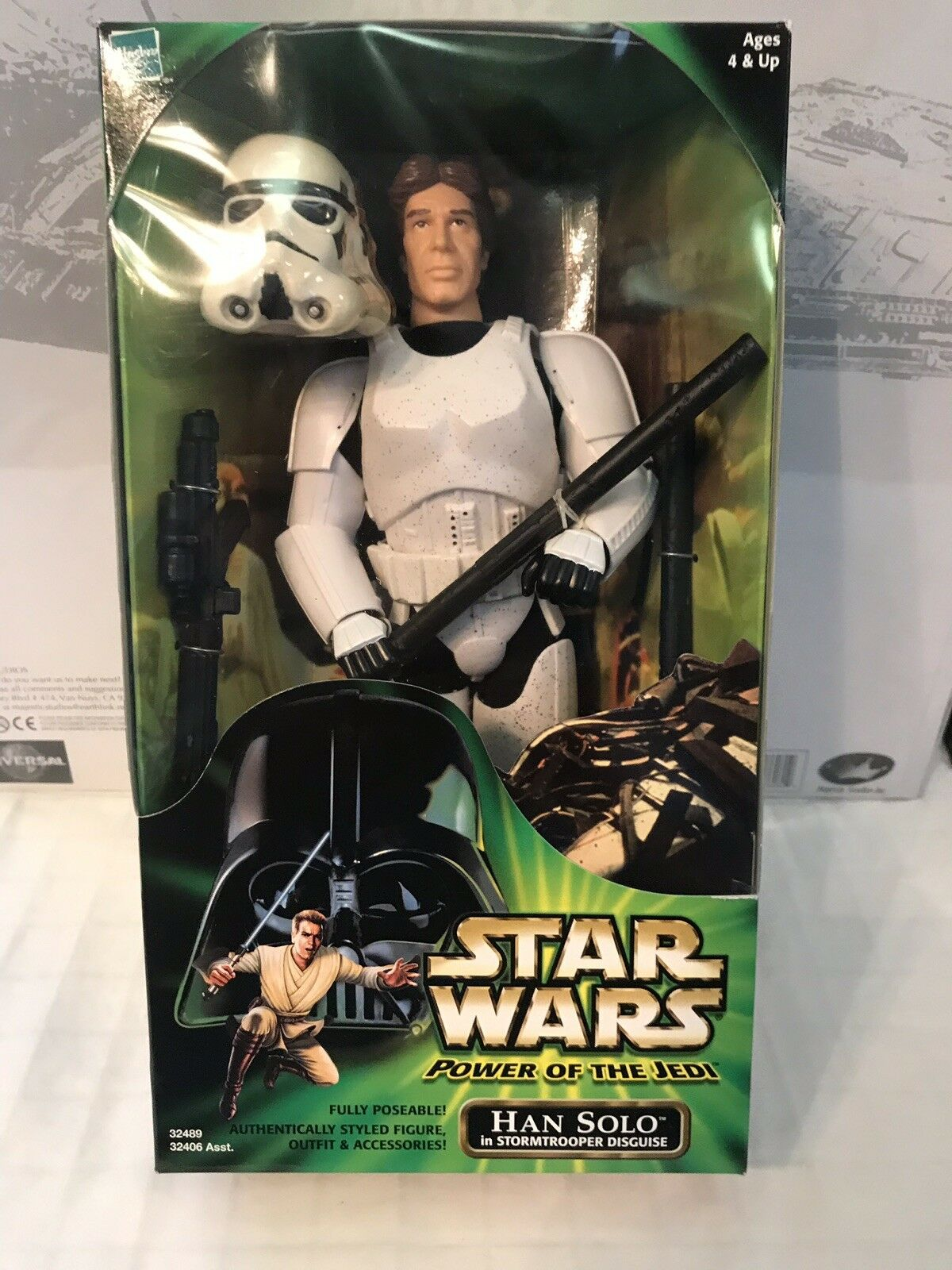 Star Wars Power Of The Jedi Stormtrooper Han Solo