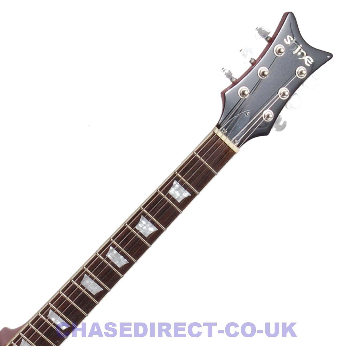 Shine Semi-Acústica Guitarra Eléctrica SI840FVS fhole fhole fhole Single Cutaway Sunburst 335 S 028d59