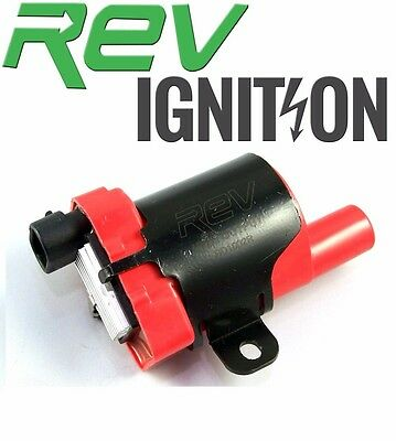 Red HIGH OUTPUT 10-15% Increase Performance Ignition High Energy Coil GM
