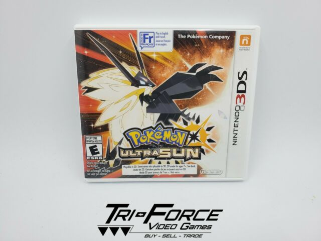 Pokémon Ultra Sun (3DS, 2017) tested & works, FREE SHIPPING