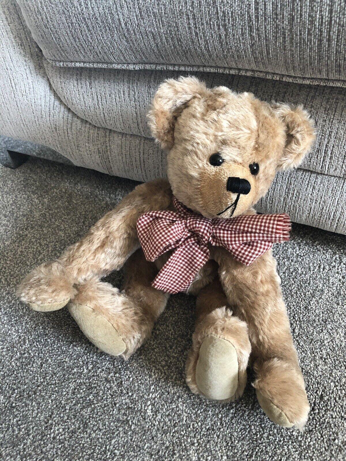 COLLECTOR ARTIST TEDDY BEAR BY NORBEARY BEARS ENGLAND