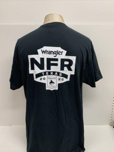 Ram Dodge Wrangler NFR Black ProRodeo PRCA Western Texas  2020 T Shirt  Sz XL  $