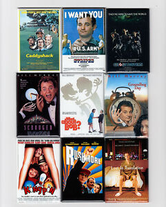 "BILL MURRAY 2""x3"" MOVIE POSTER MAGNETS w/ CADDYSHACK STRIPES GHOSTBUSTERS & more"