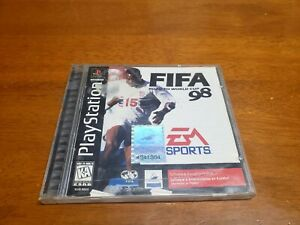 FIFA-98-Soccer-Road-to-World-Cup-Playstation-1-PS1-CIB-Complete-TESTED