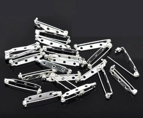 Brooch Bar Backs Safety Pins Catch Findings Large 15mm 20mm 25mm 40mm