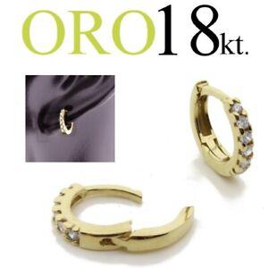 mono-orecchino-uomo-ORO-GIALLO-18kt-cerchio-anello-zirconi-swarovsky-lobo-trago