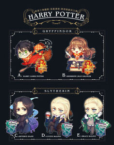 Harry Lucius Draco Hermione Snape Severus Acrylic Keychain Keyring Display Be