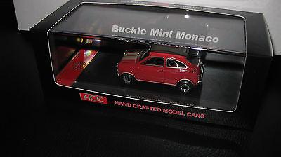 1//43 ACE MODEL CARS JOHN CENTRONE/'S AUSTRALIAN BODY BUCKLE MINI MONACO BLACK