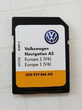 Volkswagen Navigation AS Europa / Europe V6 VW Sd Karte Discover Media Navi