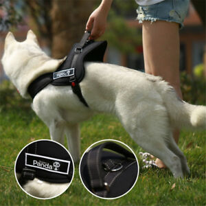 Heavy Duty Reflective No Pull Soft Padded Dog Harness XL Large Strap