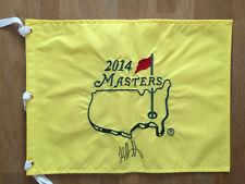 Bubba WATSON SIGNED AUTOGRAPH 2014 Golf Flag Masters Winner Augusta AFTAL COA
