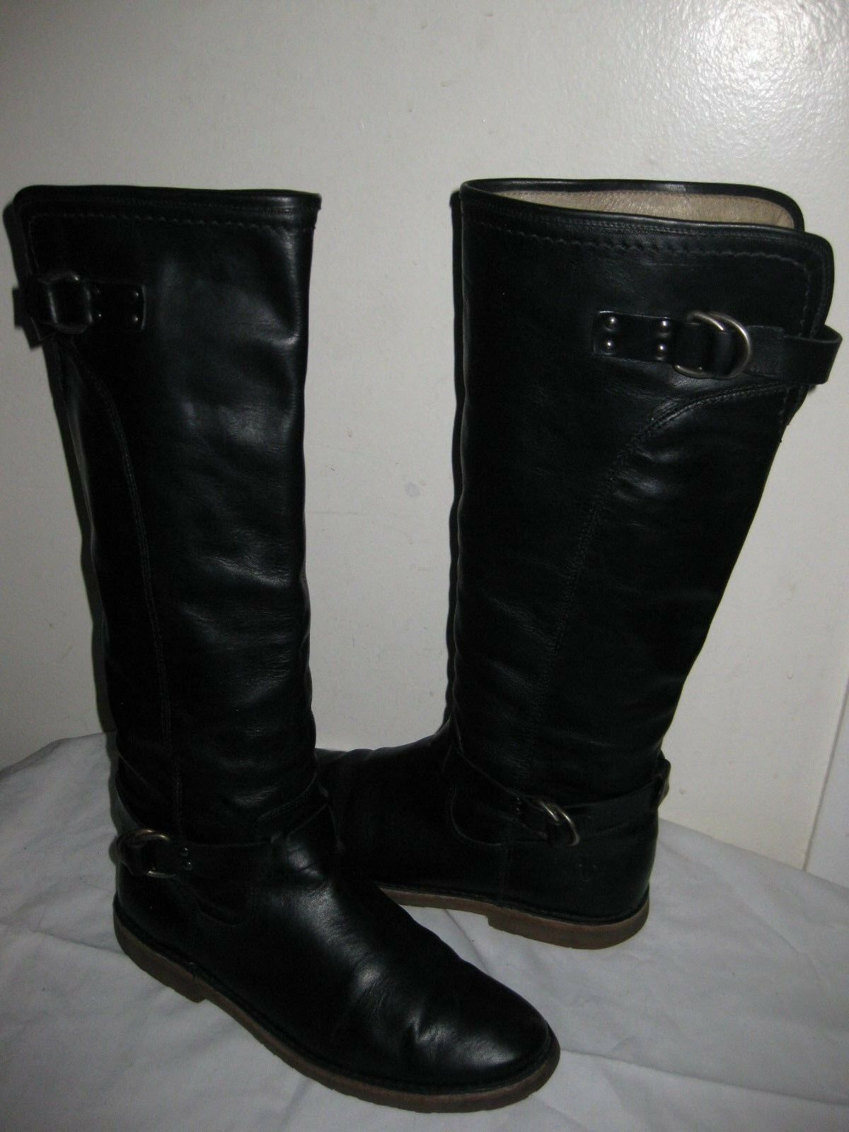Frye Celia D boot Leather shoes Size 7.5 B