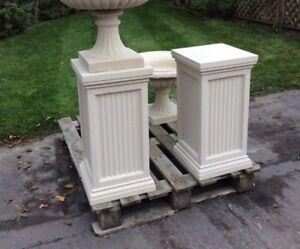 Stone Garden Large Plinth Tall Square Pedestal Column