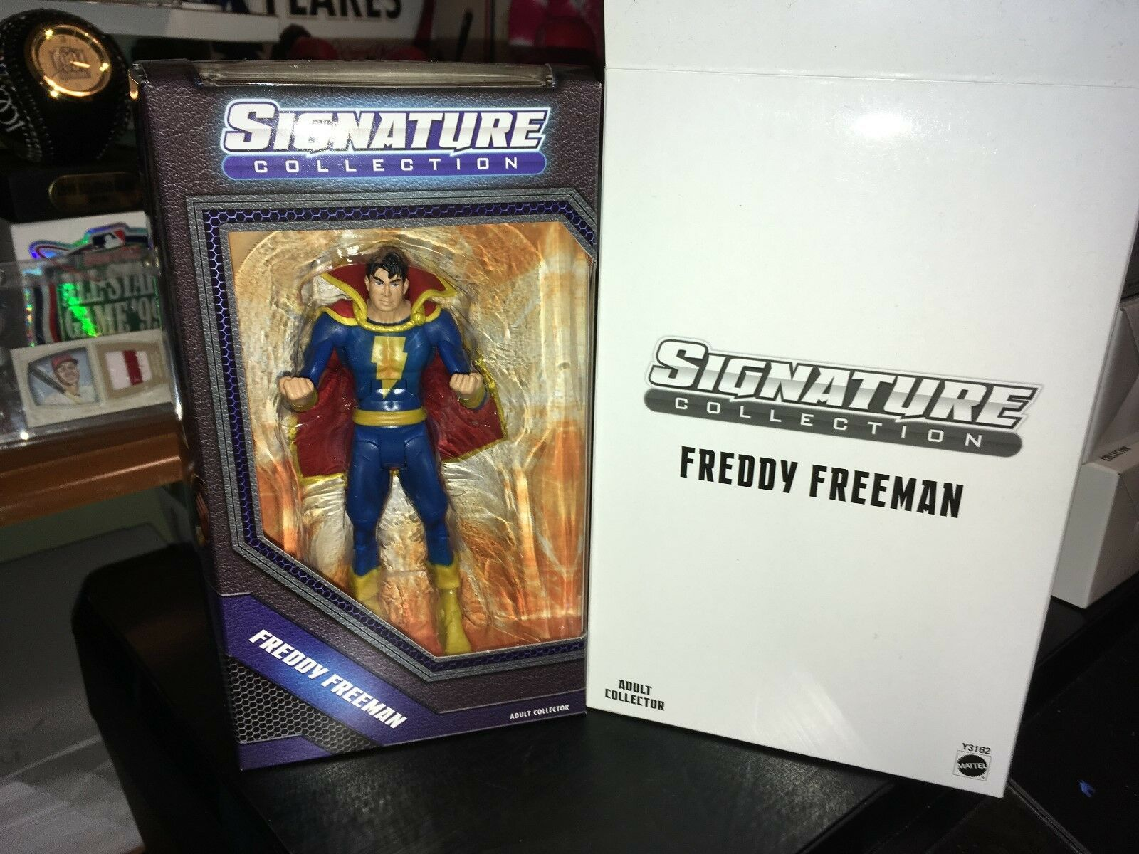 FROTdy Freeman DC Signature Collection Mattycollector Mattel Figure MIB