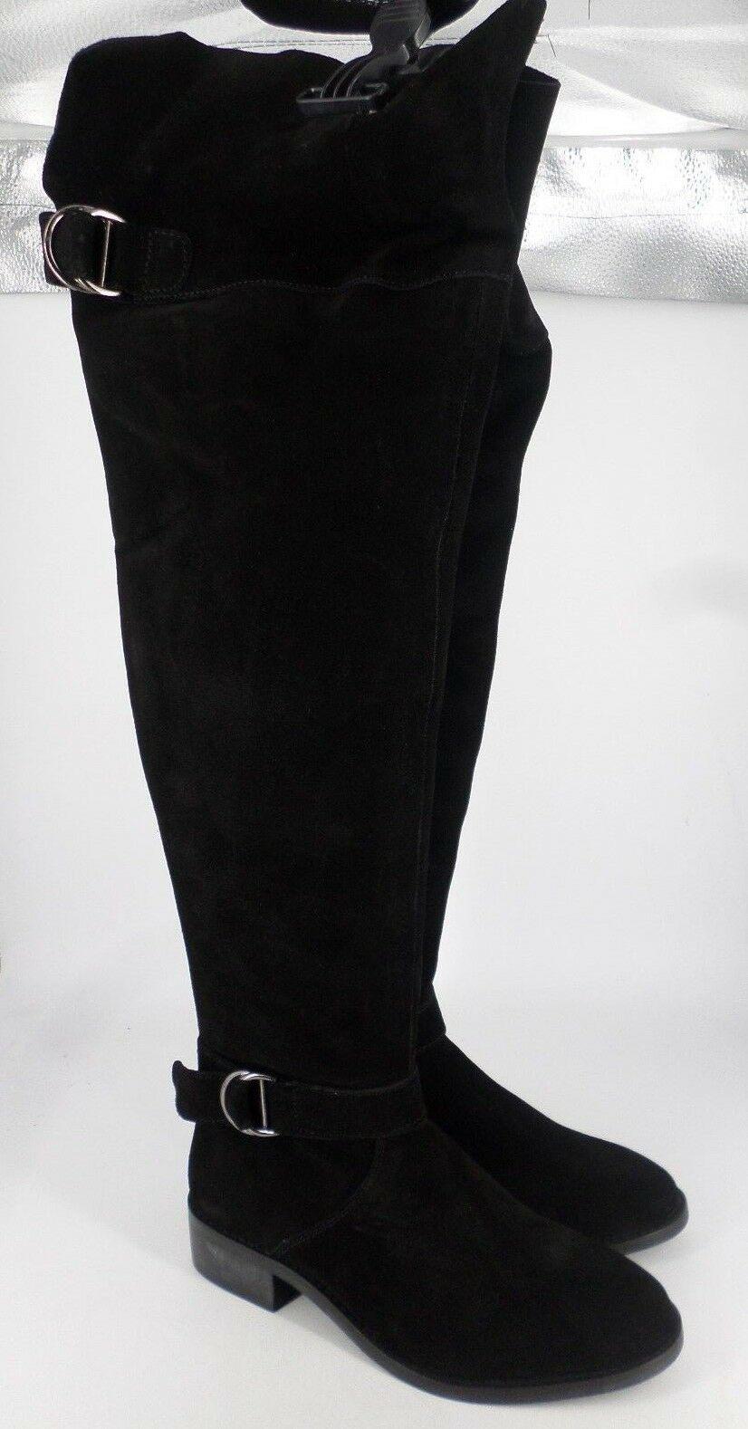 efd1d6fb455 Asos Knowledge Over Knee Boots Black Size UK 4.5 EU 37.5 BT03 22 ...