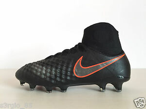 97ec5466bbc8 Nike Magista Obra II FG Black Soccer Cleats Pitch Dark Pack 844595 ...