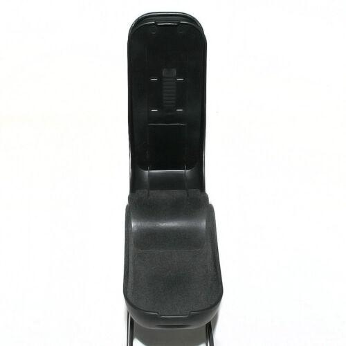 Black Armrest Arm Rest Centre Console Box For Suzuki Samurai Carry Jimny Ignis
