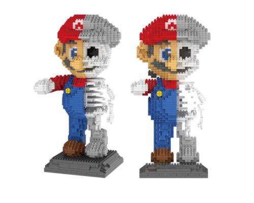 ZRK Building Blocks Toys Super Mario Dissection Skeleton DIY Kids Gifts 1686PCS