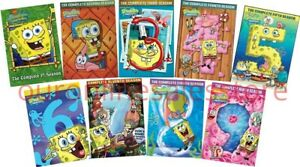 Details about SPONGEBOB SQUAREPANTS Complete All SEASON 1-9 DVD Set  Nickelodeon Collection Kid