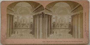 Notre Dame Da Kazan A Sant'Petersburg Russie Foto Stereo Vintage Albumina 1897