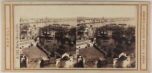 Port-Italia-Sommer-amp-Behles-Foto-Stereo-L53S1n22-Vintage-Albumina-C1865