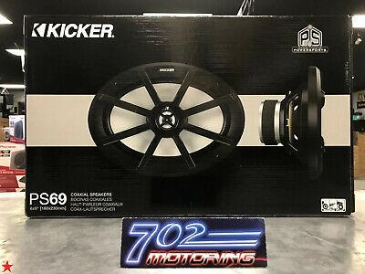 "40PS692 KICKER 6.9/"" Weather-Resistant Speakers 2 OHM"
