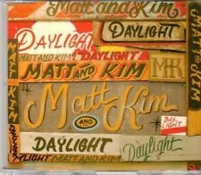 (DH531) Matt & Kim, Daylight - 2009 DJ CD