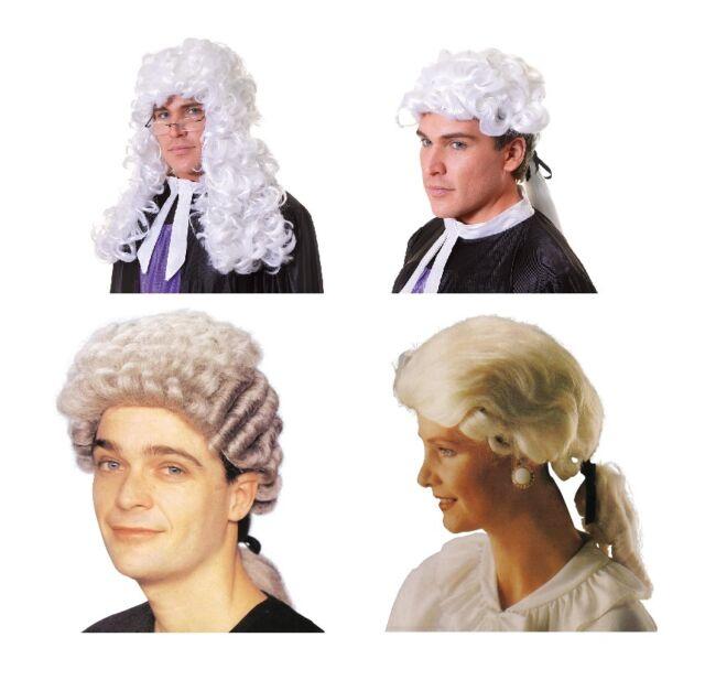 Hof/ Rechtsanwalt/ Richter/ Anwalt Perücke Rettungsdienste Kostüm Zubehör