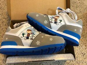NIB New Balance 574 Peanuts Girls Sneaker Size US 2.5