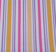 What Little Girls Are Made Of Bethany Shackelford QT BTY Stripe on Off-White