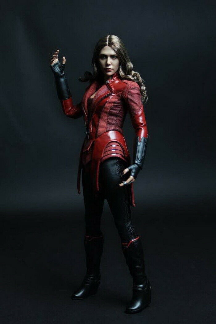 1 6 The Avengers 2 Scarlet Witch Clothes Accessories Set Fit 12'' Body