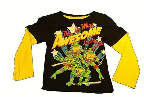 Boys/' Shirts Marvel Avengers Good Dinosaur Paw Patrol Cars McQueen TMNT NWT