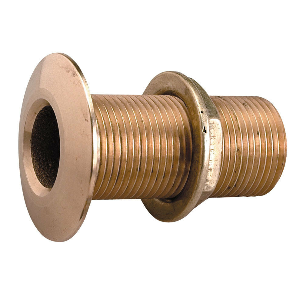 Perko 2 ThruHull Fitting wPipe Thread Bronze MADE IN THE USA